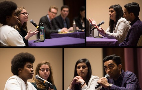 Cilento, Syed debate working with administrators, representing students one day before voting