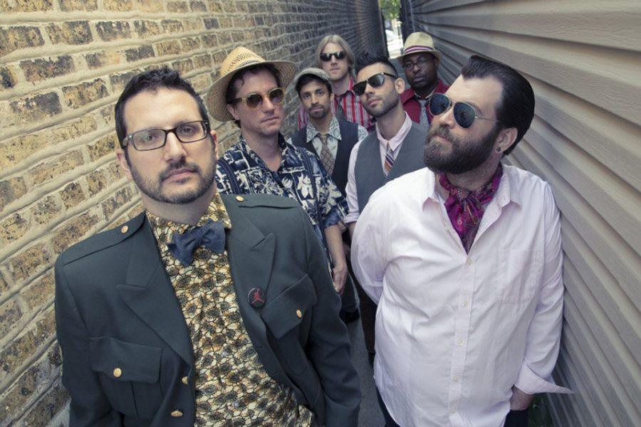 Members of Chicago Afrobeat Project pose for a photoshoot in 2015. The group will perform at the Chicago International Movies and Music Festival this Saturday.