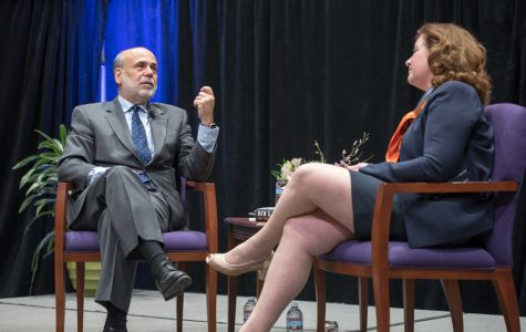 Former Fed chairman Ben Bernanke discusses financial crisis in Northwestern lecture