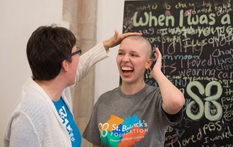 St. Baldrick's at Northwestern holds first head-shaving fundraising event
