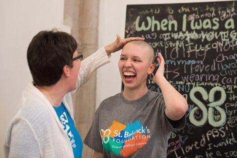 St. Baldrick's at Northwestern holds first head-shaving fundraising event