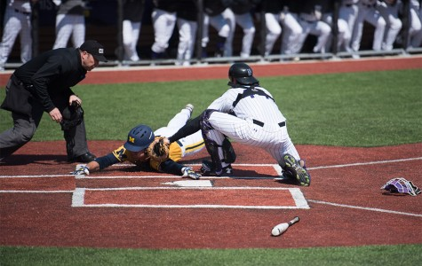 Baseball: Wildcats swept by Michigan after falling just short Sunday
