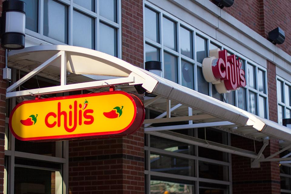 Evanston's Chili's Grill and Bar is located at 1765 Maple Ave. Chili's was cited for an underage drinking violation last week and may face a fine or suspension of their liquor license.