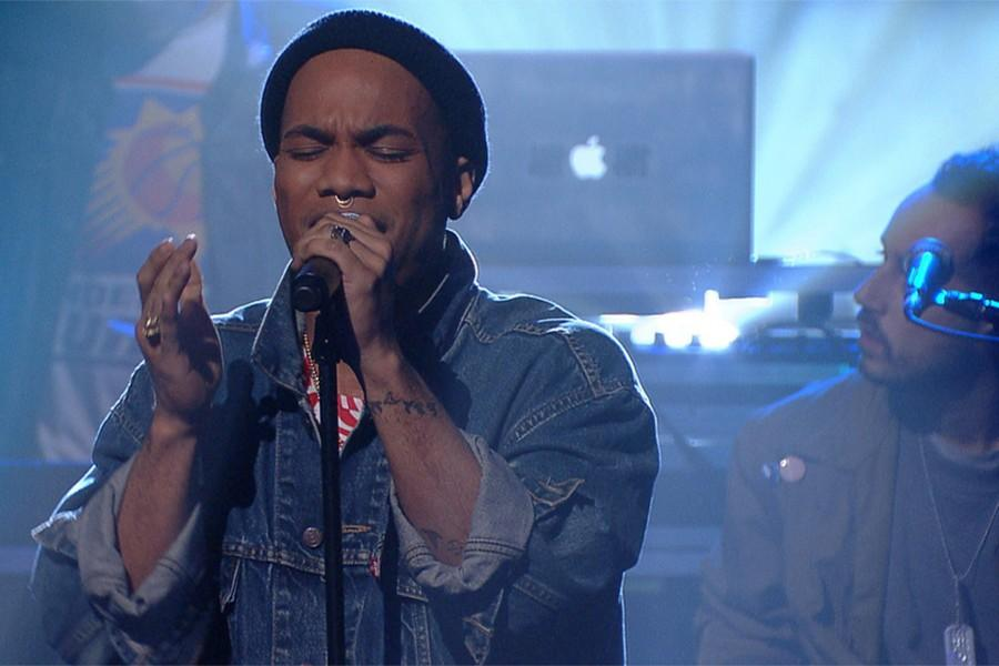 Anderson .Paak performs on