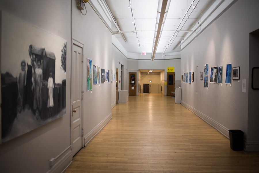 An+exhibit+displaying+Shakespearean+design+elements+will+start+at+the+Noyes+Cultural+Arts+Center+on+April+10.++The+collection+was+organized+to+celebrate+400+years+since+the+playwright%27s+death.+