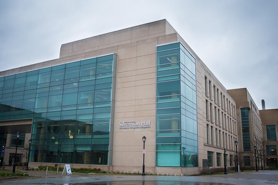 Part of the Richard and Barbara Silverman Hall for Molecular Therapeutics and Diagnostics was paid for using Lyrica money. Chemistry Prof. Richard Silverman donated part of his royalties to help fund the $100-million building, which is named after him and his wife.