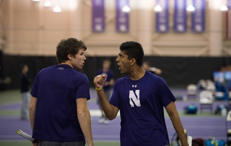 Men's Tennis: Northwestern sweeps weekend matches