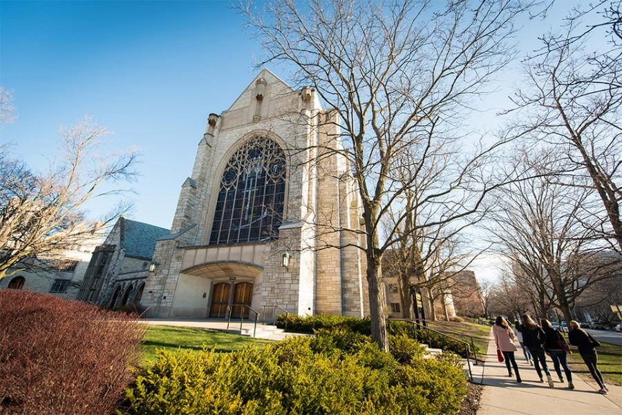 On Friday, Alice Millar Chapel housed a community discussion on inclusivity. More than 100 people attended the event, including Eboo Patel, president of Interfaith Youth Corps, who spoke to the importance of combating racism and hate.