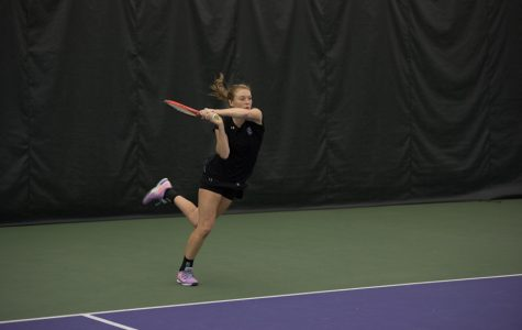 Women's Tennis: As Northwestern jostles for tournament seeding, Barnett prepares to play last career home match