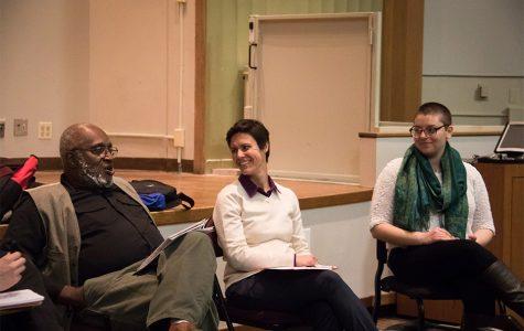 Panel discusses balancing activism, academics