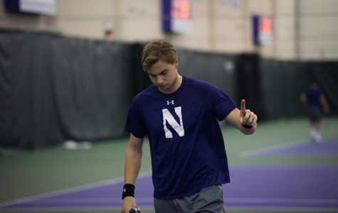 Curtain Call: From Norway to Northwestern, Fedor Baev is helping the Wildcats make history in his senior season