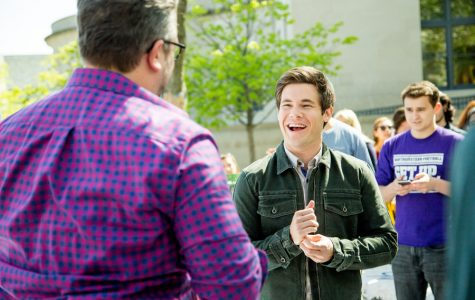Adam Devine, Northwestern alum Jake Szymanski speak about new movie