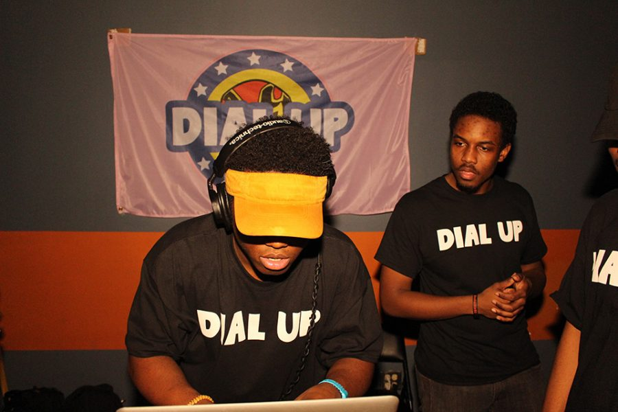 Dial+Up+members+perform+at+an+event.+The+DJ+group+won+Mayfest+Battle+of+the+DJs+and+has+earned+a+spot+to+perform+on+the+Dillo+Day+main+stage+Saturday.