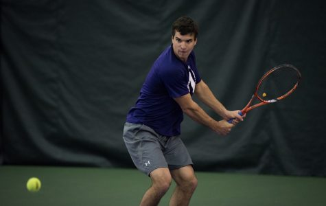 Men's Tennis: Northwestern falls in semifinals of Big Ten tournament