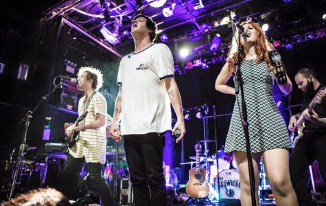 The Mowgli's perform in Philadelphia. The band will open Dillo Day this year.