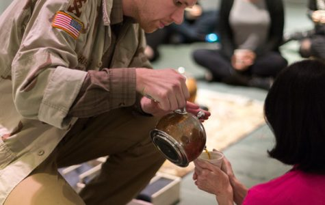 Performance explores humanity one cup of tea at a time