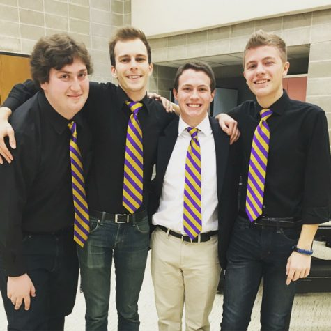 New men's a cappella group 'Tempo Tantrum' to hold first show