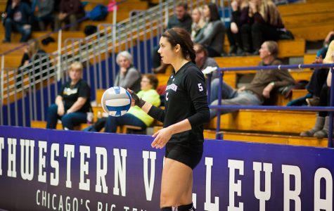 Curtain Call: Caroline Niedospial, Northwestern's defensive rock, finds her passion in volleyball through her sister