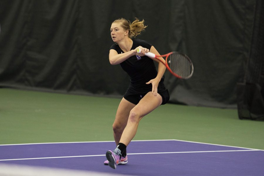 Curtain Call: Alicia Barnett finds life's escape in tennis