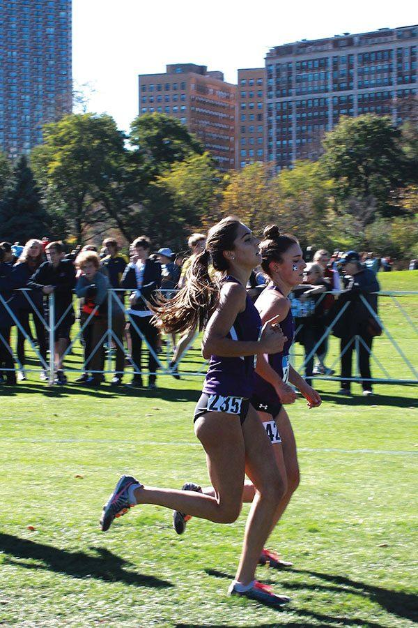 Two+Northwestern+runners+compete+in+a+race.+The+Wildcats+will+run+in+nearby+Naperville%2C+Illinois+a+few+weeks+after+racing+in+Champaign.+