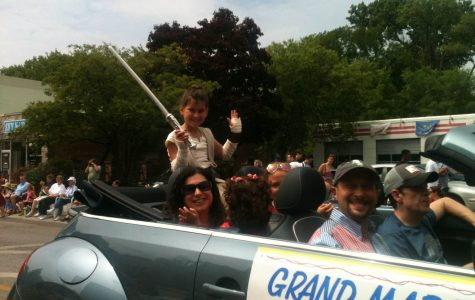 Young activist leads Evanston's Fourth of July Parade