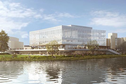 University unveils plans for new student center