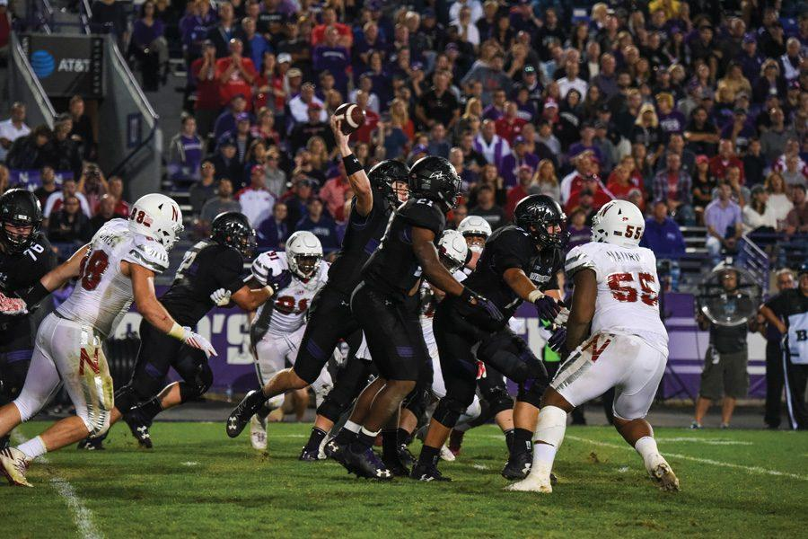 Northwestern plays Nebraska at Ryan Field. The NU athletic department announced a new rule at the end of August saying only clear bags of a certain size will be allowed in the arena.