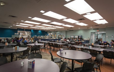 Sargent dining hall during late-night hours. Northwestern Dining is implementing campus-wide changes this year, including new late-night food options and improvements to dining hall menus.