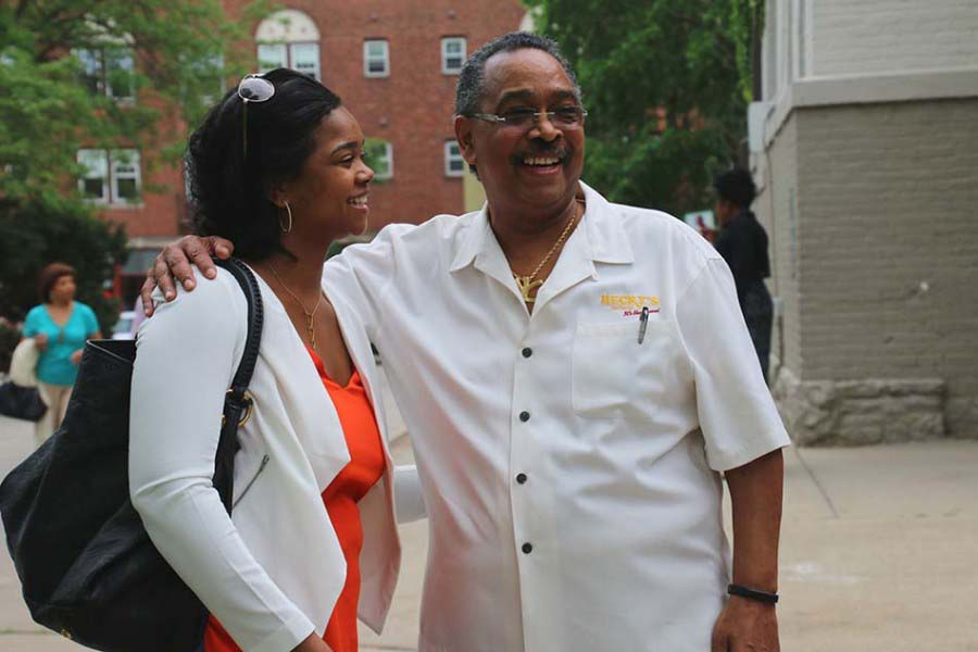 Hecky Powell launched the Evanston Work Ethic program through the Forrest E. Powell Foundation this school year. The program is hoping to help ETHS students who aren't interested in a four-year college with a trade career.