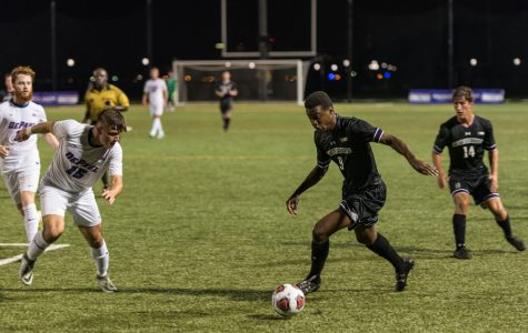 Men's Soccer: Northwestern beats Michigan in first conference win