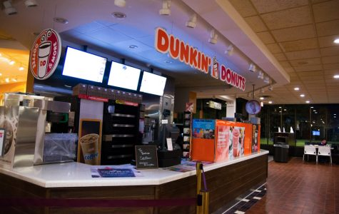 Dunkin' Donuts, International Dish close before dark this year