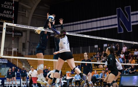 Volleyball: Northwestern falls at Indiana in first Big Ten match