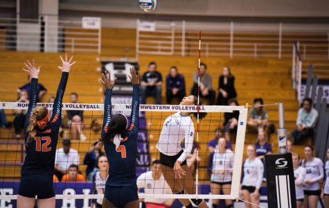 Volleyball: Northwestern takes two of three matches in final non-conference tournament