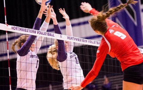 Volleyball: Northwestern drops road match to No. 19 Ohio State