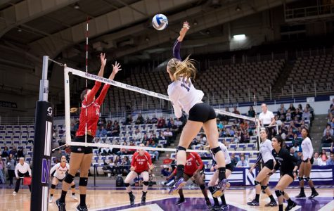 Volleyball: Northwestern swept by Penn State in first home game of season