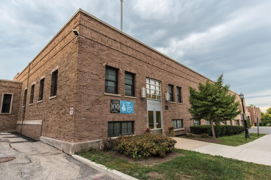 The Evanston Water Plant is at the center of the city's water system. Water pipes in south Evanston were found to have coal tar in and around them, resulting from gas pipes that were used in the late 19th to mid-20th century.