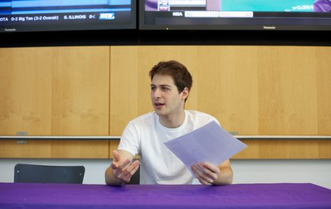 Medill junior Ryder Chasin is the new host of The Blackout, Northwestern's first late night comedy talk show.