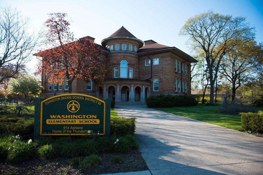 Washington Elementary School, 914 Ashland Ave., is one of ten elementary schools in Evanston/Skokie School District 65. The District Educators' Council and the District 65 Board of Education recently agreed to bring in a mediator for their contract negotiations.