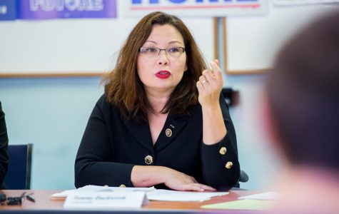 U.S. Rep. Tammy Duckworth addresses college affordability during round table discussion