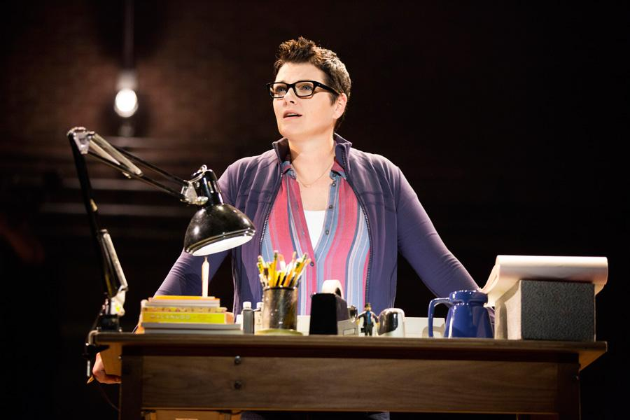 "Kate Shindle (Communication '99) returns to Chicago with the national tour of the hit musical ""Fun Home."" Shindle stars as Alison, the first lesbian protagonist in a Broadway musical."