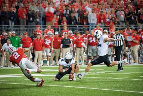 Captured: Wildcats hang close but ultimately fall to No. 6 Ohio State