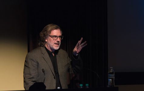 Oscar winner Gary Rydstrom teaches students about sound in film