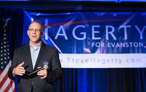 Businessman Steve Hagerty kicks off mayoral campaign