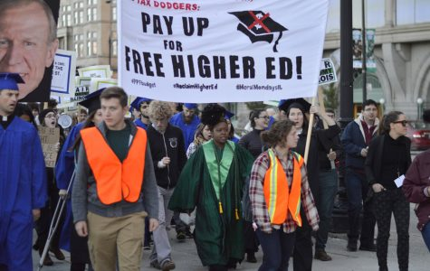 Student Action NU joins higher education protest in Chicago