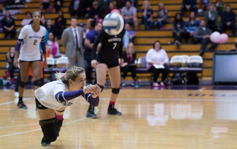 Volleyball: Northwestern earns first conference victory in weekend homestand