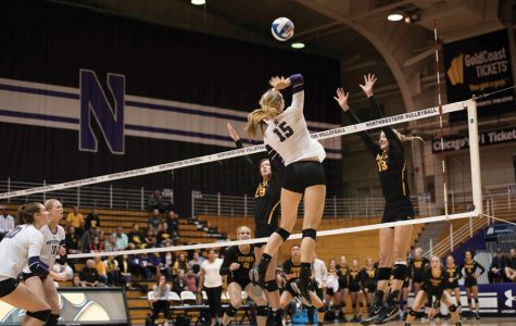 Volleyball: Northwestern losing streak stretches to seven against No. 1 Minnesota