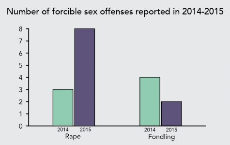 Annual safety report reflects increase in number of rape cases reported