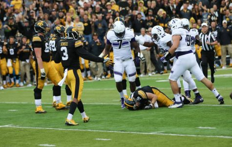 Football: Northwestern run defense stands tall against Iowa