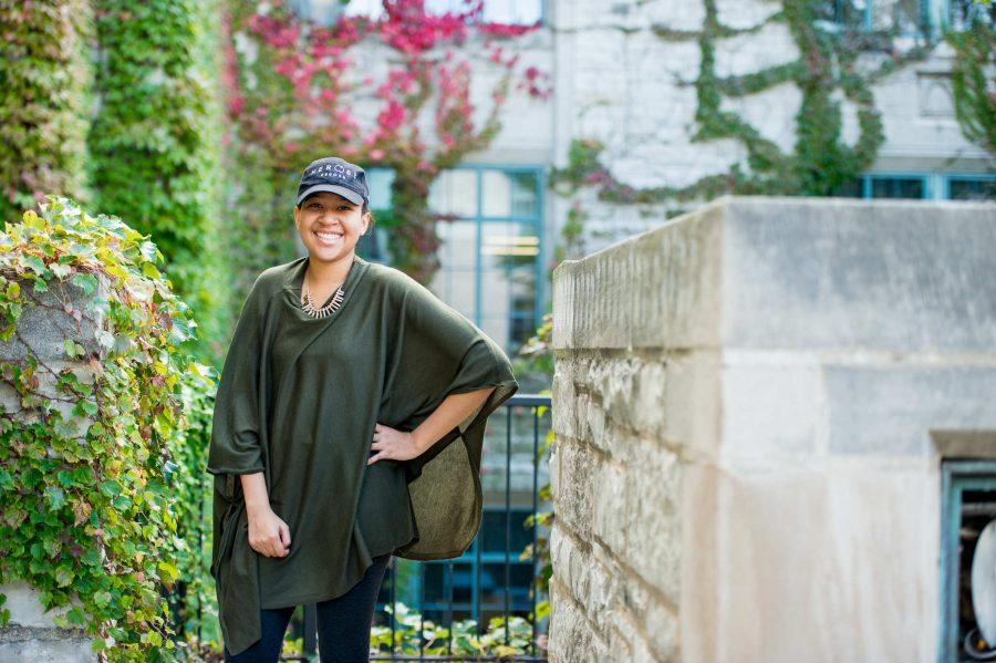 Kristen+Cotton+is+a+biomedical+engineering+major++in+the+McCormick+School+of+Engineering+and+Applied+Sciences.+Though+underrepresented%2C+black+STEM+students+at+Northwestern+said+they+find+support+through+programs+like+EXCEL+and+the+National+Society+of+Black+Engineers.+