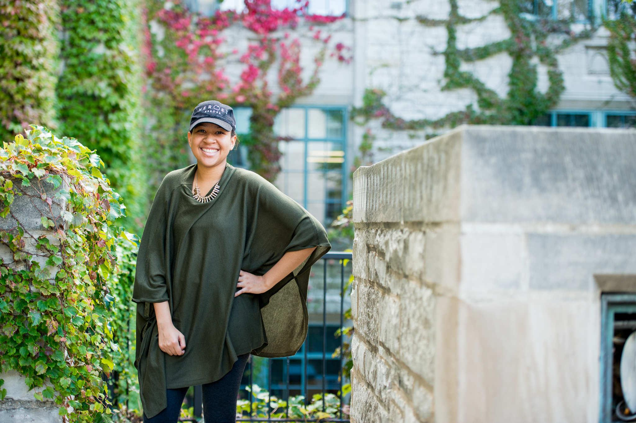 Kristen Cotton is a biomedical engineering major  in the McCormick School of Engineering and Applied Sciences. Though underrepresented, black STEM students at Northwestern said they find support through programs like EXCEL and the National Society of Black Engineers.